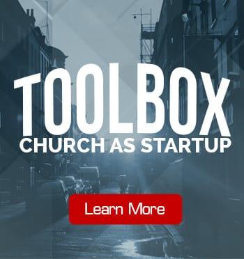 toolbox church as a startup
